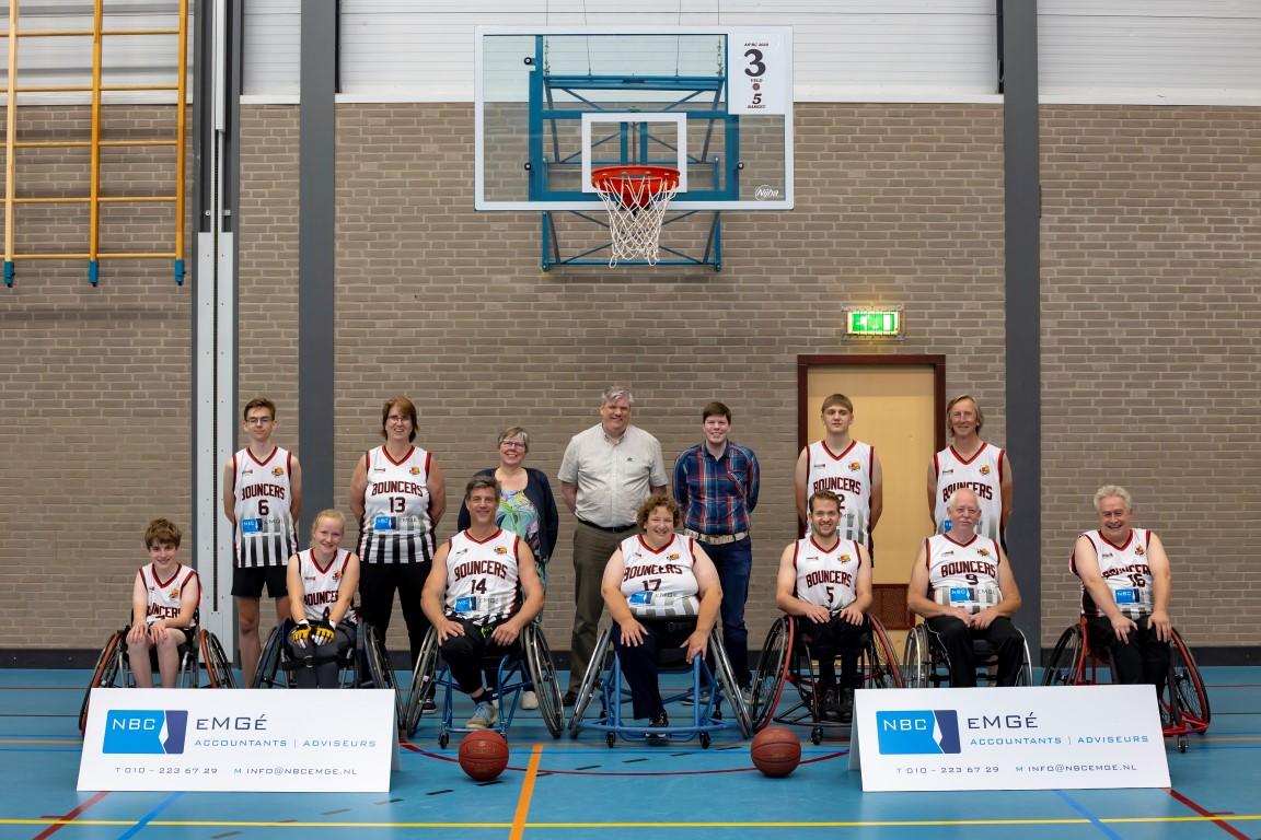 Bouncers Basketball Rolstoelbasketbal